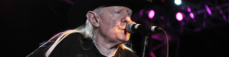 JOHNNY WINTER - A Life for the Blues