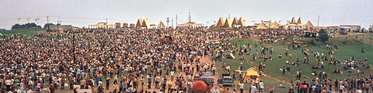 SUMMER OF MUSIC - 50 Jahre Woodstock-Festival