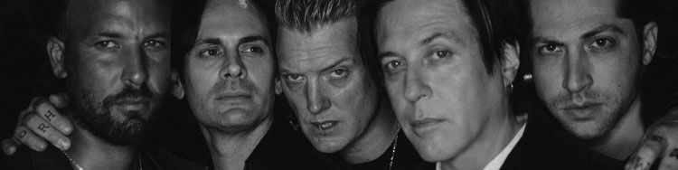Josh Homme from the QUEENS OF THE STONE AGE wants to grab his fans and yell at them