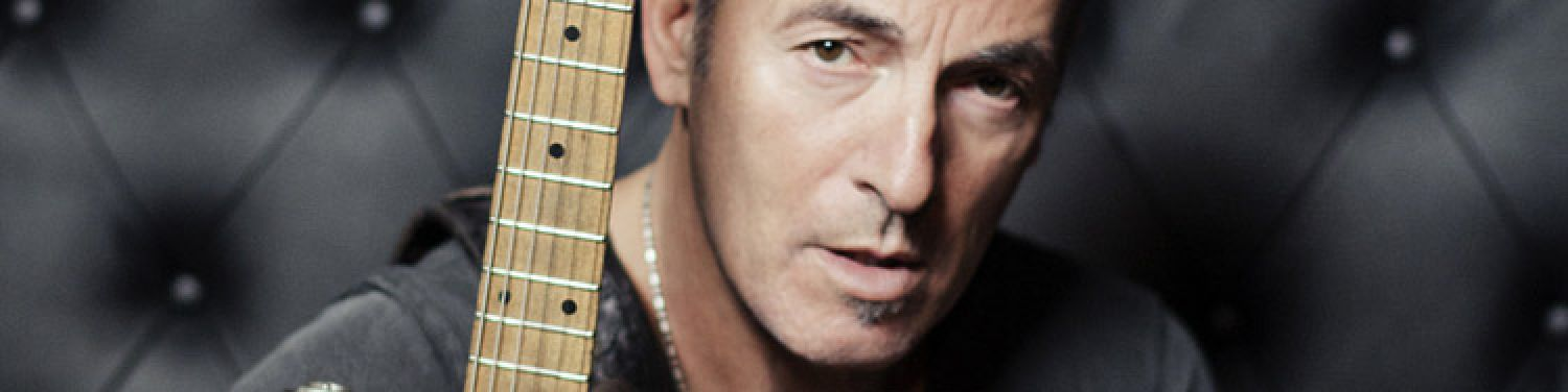 """BRUCE SPRINGSTEEN - In a press briefing with """"The Boss"""