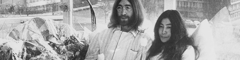 JOHN LENNON + YOKO ONO - Lennon's On Sale Again